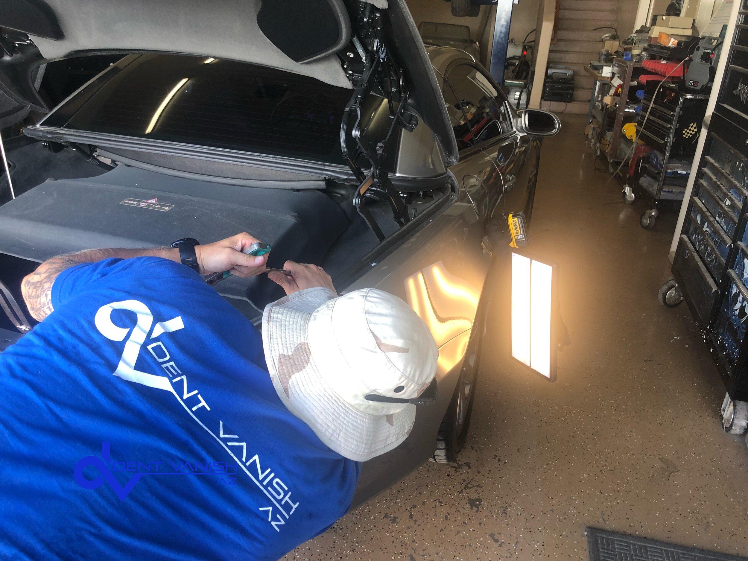 QT Panel Paintless Dent Repair