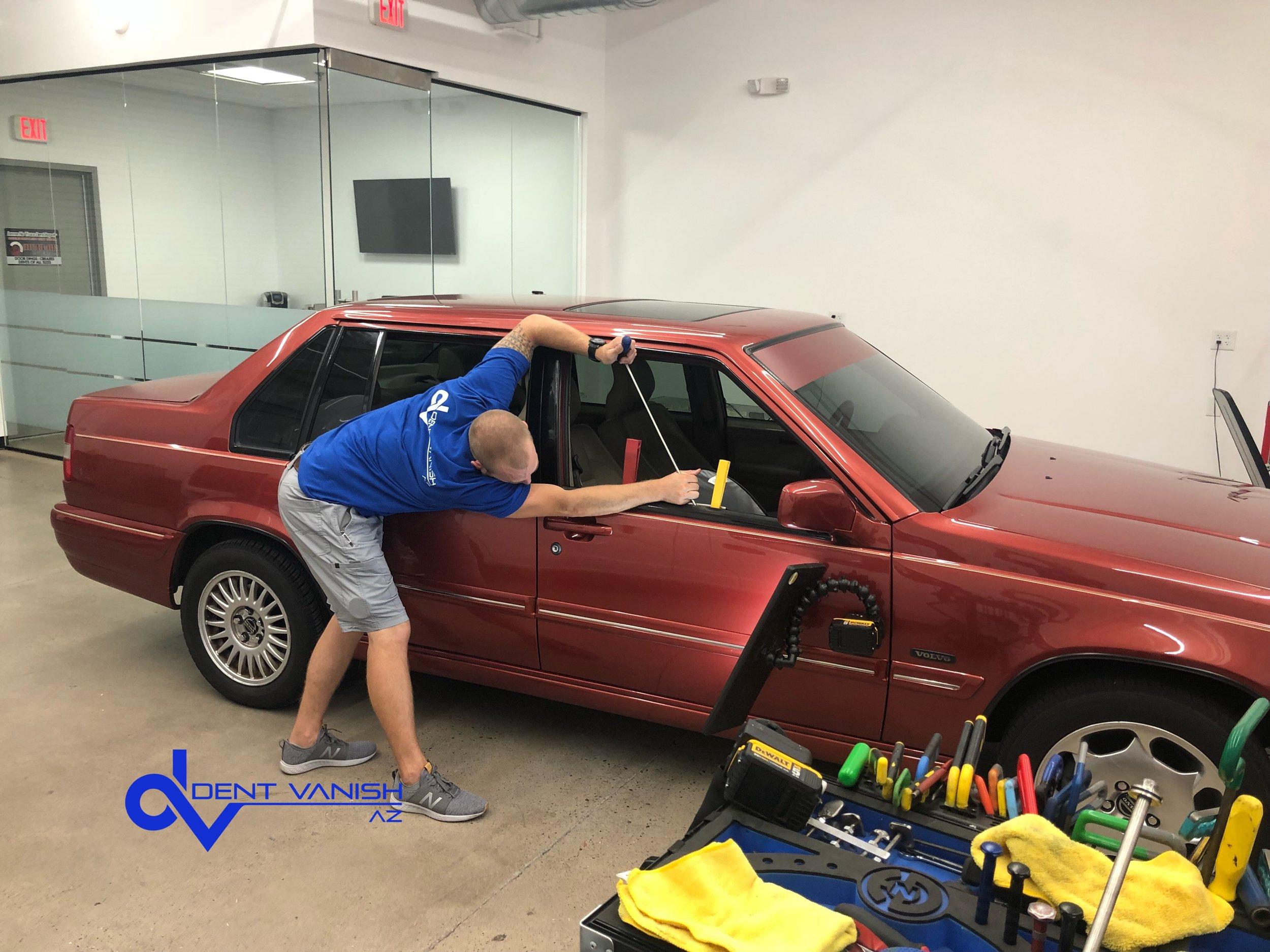 Volvo Dent Repair