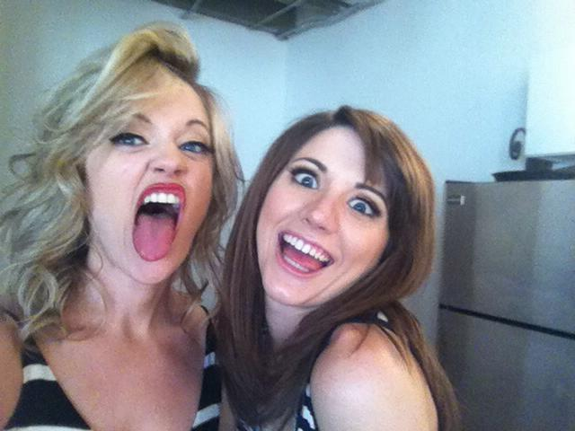 The thing is, even with the crazed looks on their faces, they are still absolutely beautiful!!!