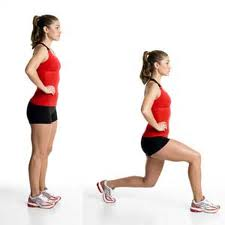 Lunges are another exercise that is a MUST on leg day. Lunges also work the quadriceps, hamstrings, glutes, core and calves! If you want to tighten up your legs and lift your booty, make sure to incorporate lunges in your strength training. You can easily just pick up some dumbbells and lunge across the room.