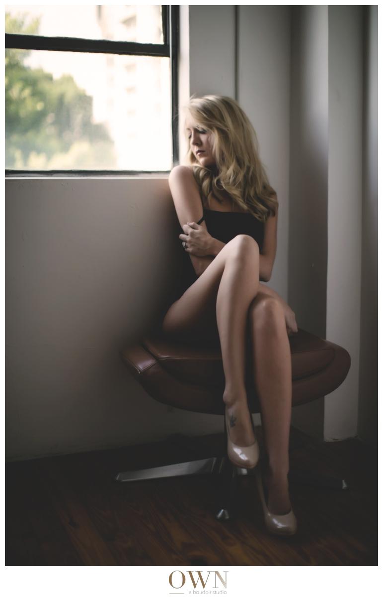 blonde long legs boudoir atlanta georgia