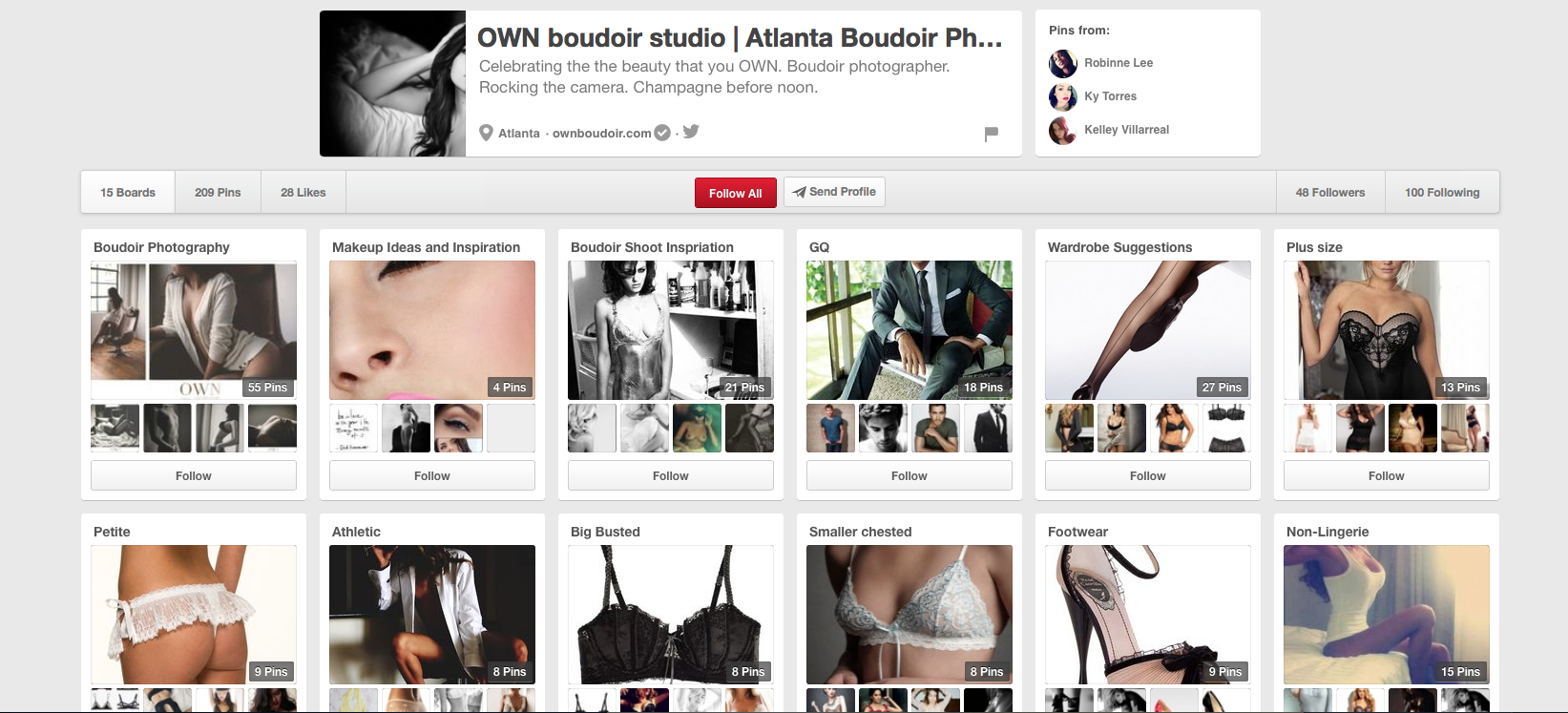 Click the image above to go to my pinterest board!