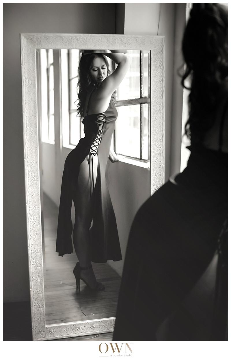 mirror reflection boudoir atlanta boudoir own boudoir