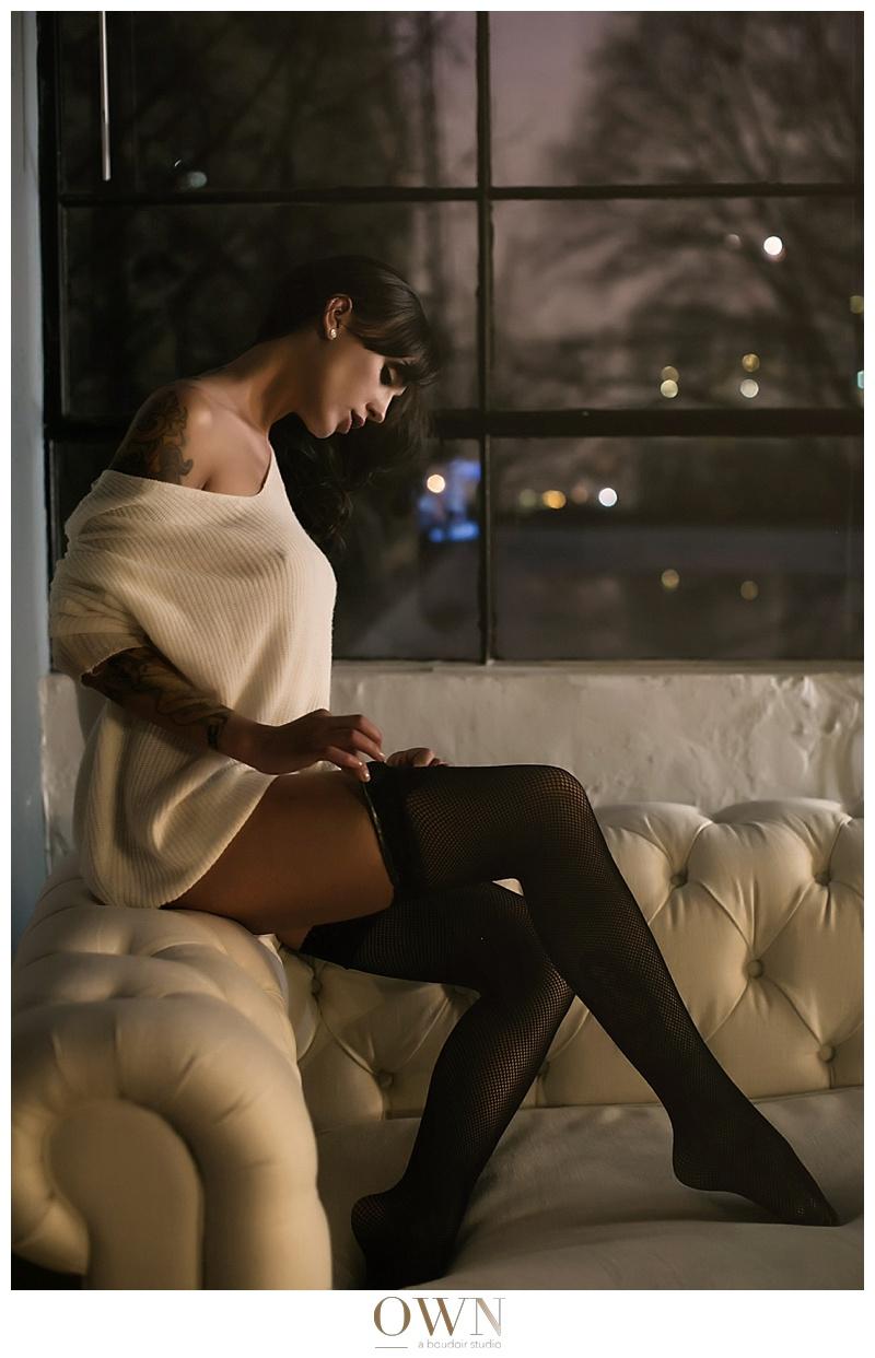 winter boudoir shoot own boudoir atlanta