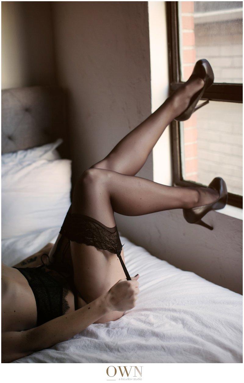black and white own boudoir atlanta