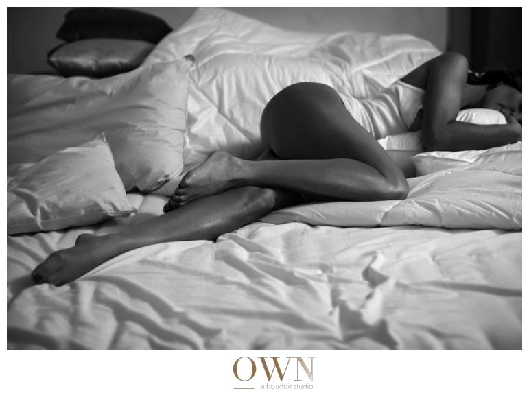 black and white photo own boudoir boudoir photographer