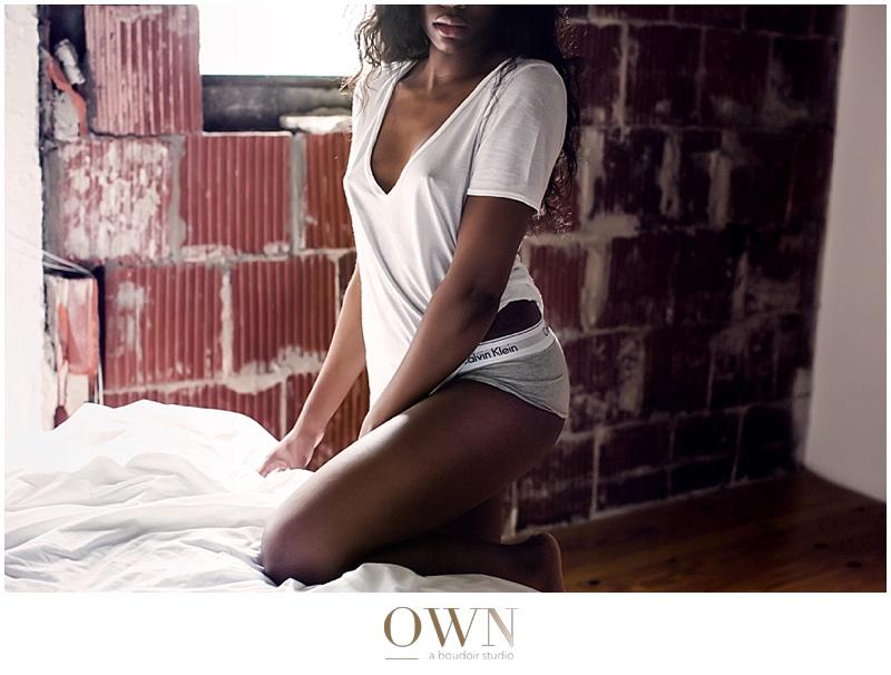 white t shirt boudoir photographer atlanta calvin klein underwear sexy photography
