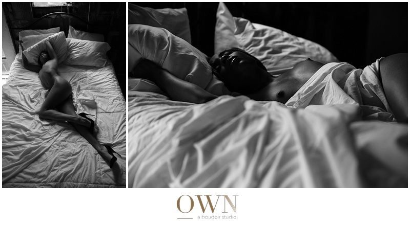 african american atlanta boudoir photography photographer classy new york nude sheets erotic black and white