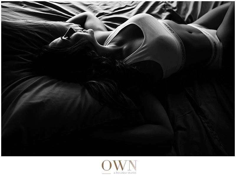 calvin klein calvins underwear sports bra nude boudoir photography atlanta paris boudoir session intimate erotic portrait