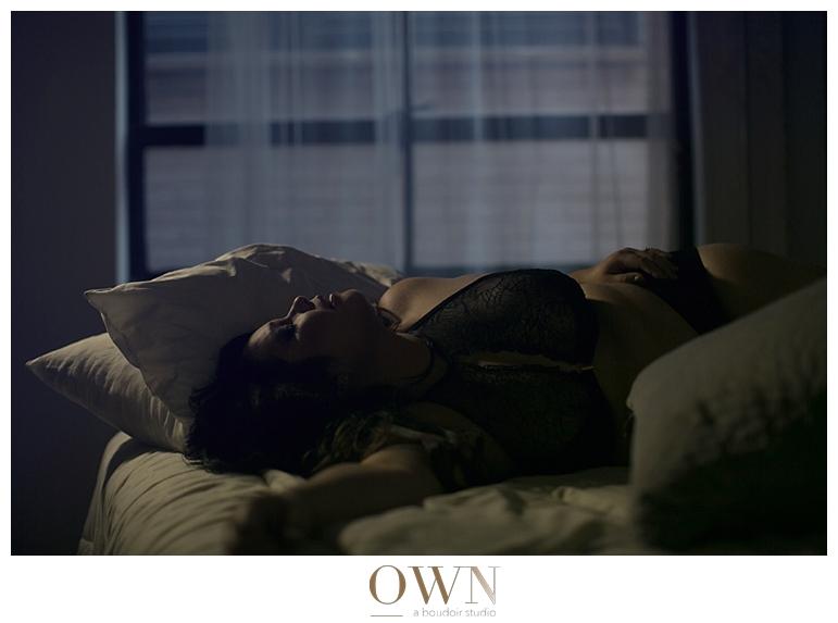 atlanta boudoir photographer boudoir photography DC plus size lane bryant lace lingerie studio loft sensual photos