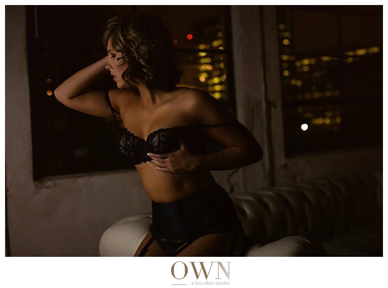 new york city skyline boudoir photographer