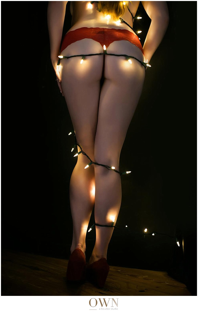 christmas present boudoir