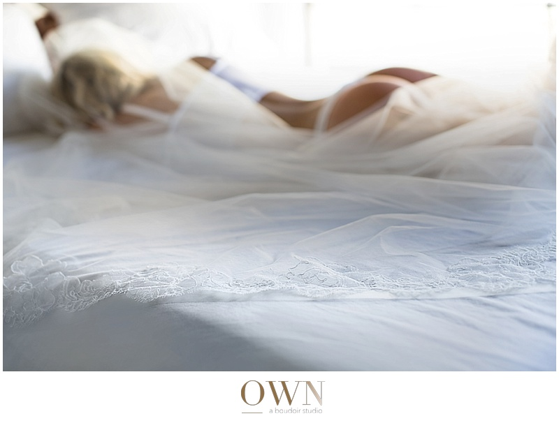 bride in bed