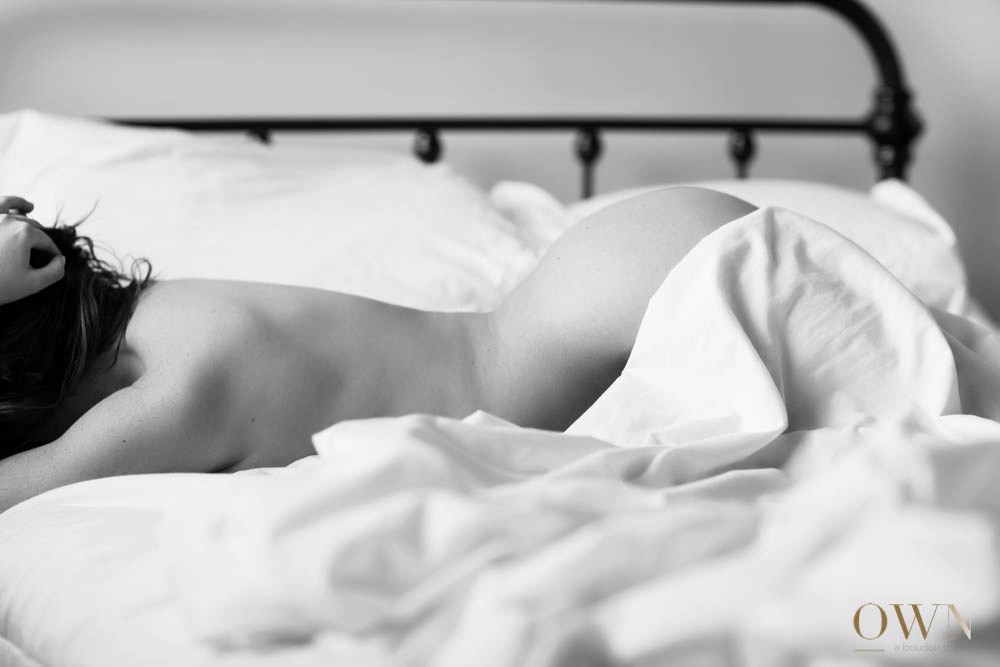 Image taken by Emma, associate photographer at OWN boudoir