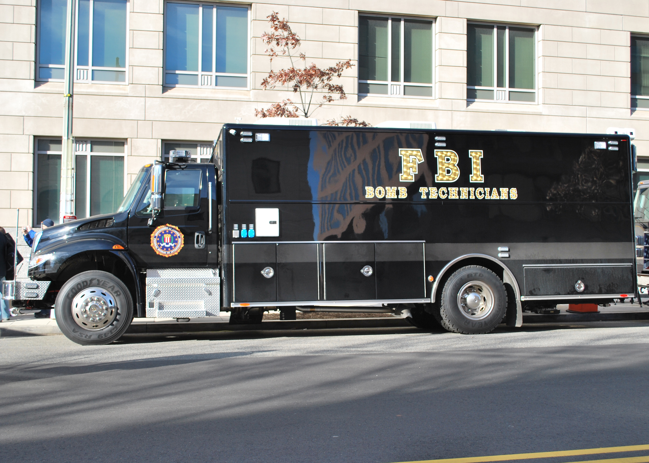 FBI Bomb Technician Vehicle (courtesy of FBI)
