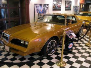 Rockford's Shiny Gold Firebird