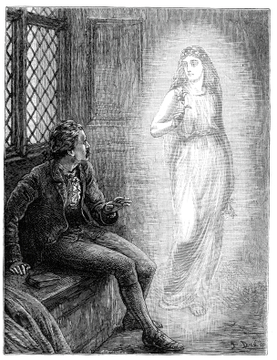 Stories such as  The Christmas Carol,  where a human is visited by the past in the form of a ghost, use the happily ever before trope.