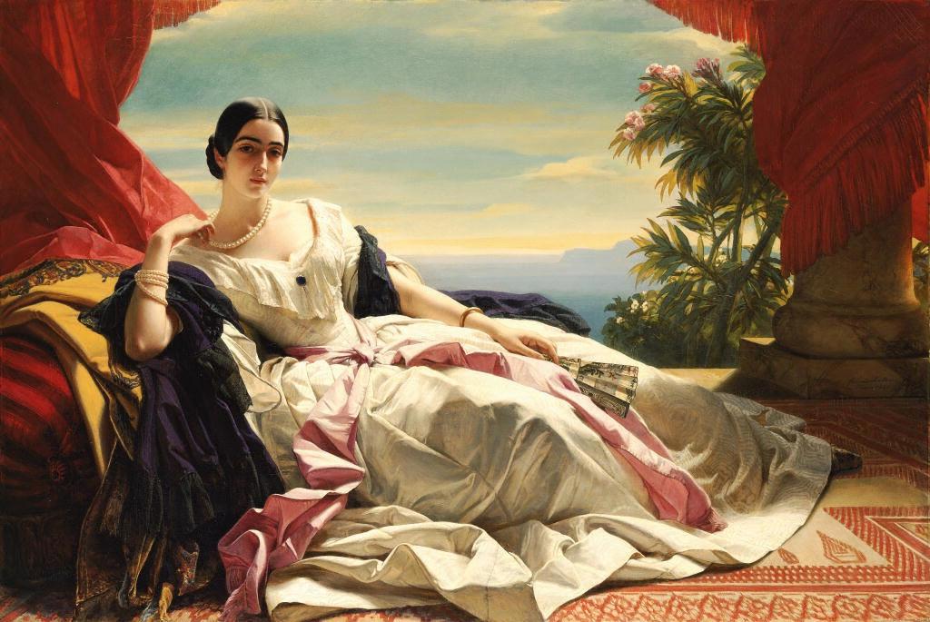 Leonilla Princess of Sayn-Wittgenstein-Sayn 1843 Franz Xaver Winterhalter Digital image courtesy of the Getty's Open Content Program.JPG