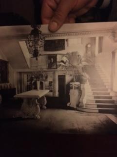 Mrs Crawford Hill living room b4 Brown Palace portraits hub R boyfriend L.JPG