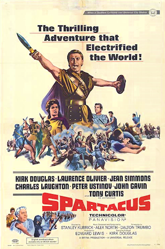 I am Spartacus! (Film poster, 1960) is in the public domain)