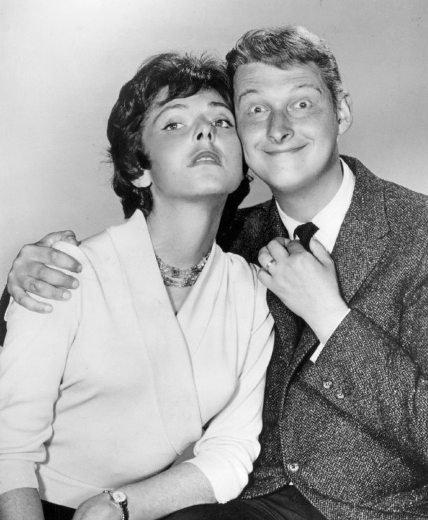 Elaine May and Mike Nichols, 1960 (image is in public domain)