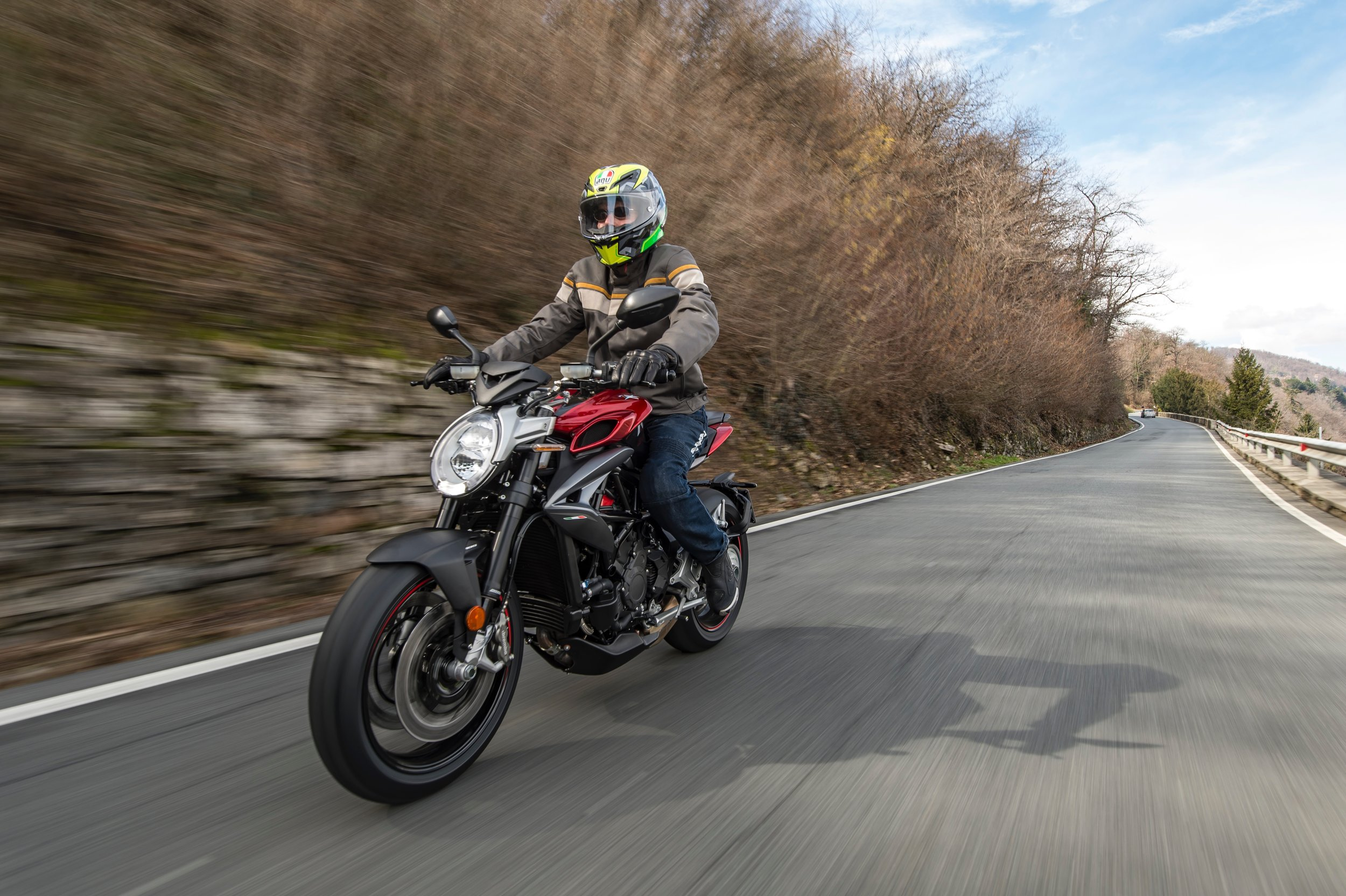 I recently spent a day  riding the new MV Agusta Brutale 800 RR around Lago Maggiore,  in northern Italy. I can tell you that knowing what road conditions were like around the next corner would have dramatically improved my experience.