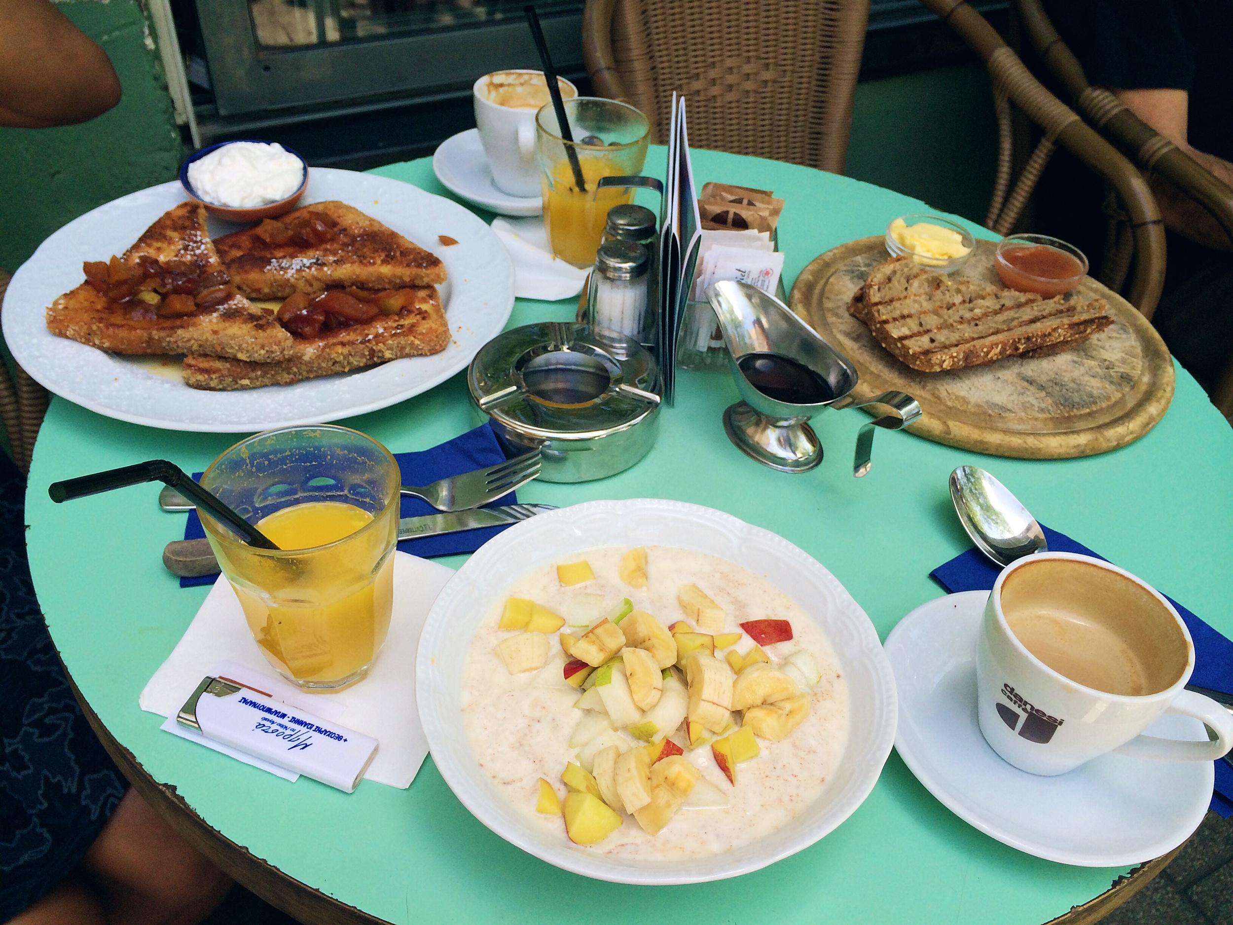 Tel Aviv wins for breakfast