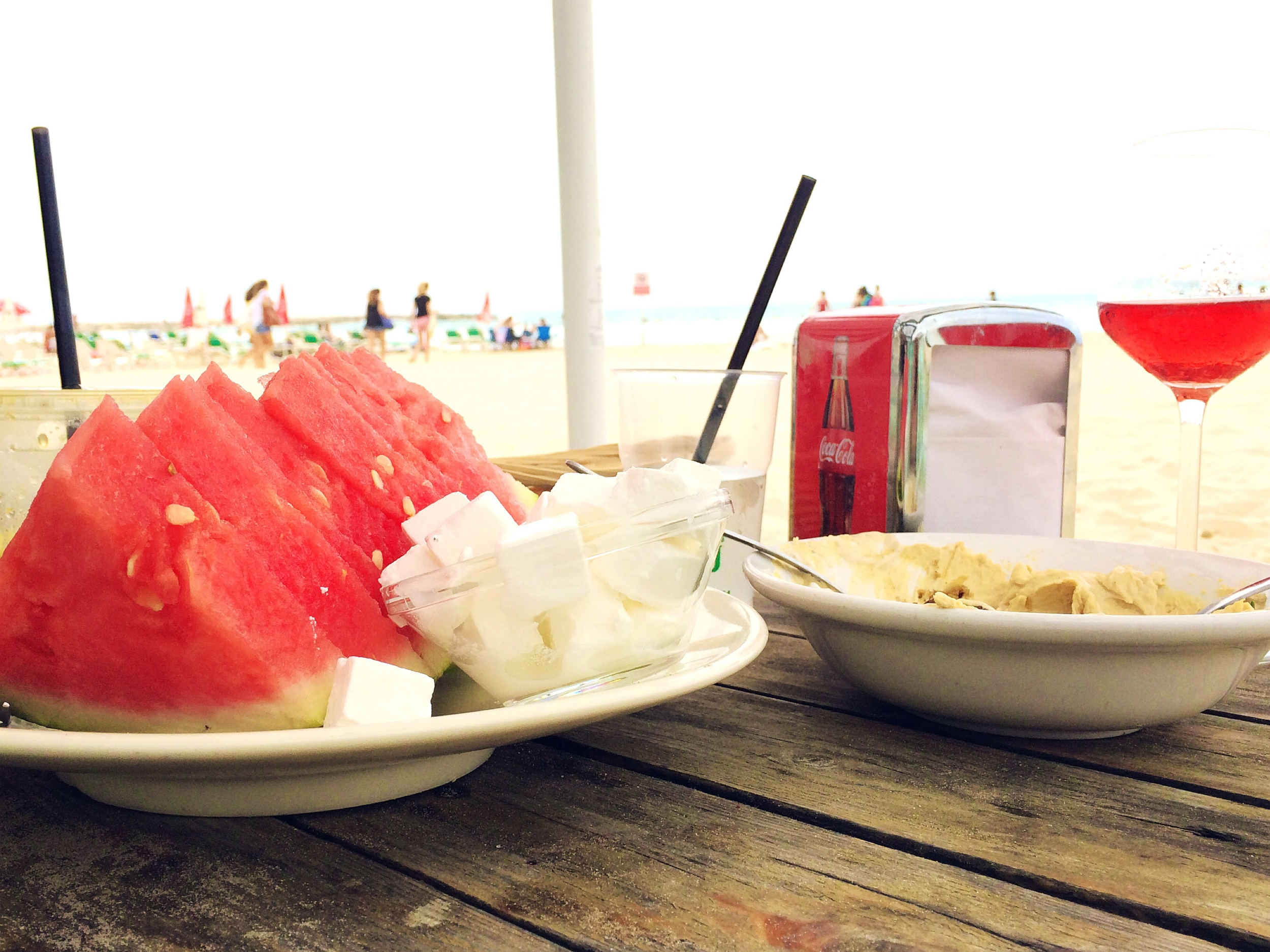 So is Watermelon with Feta cheese.