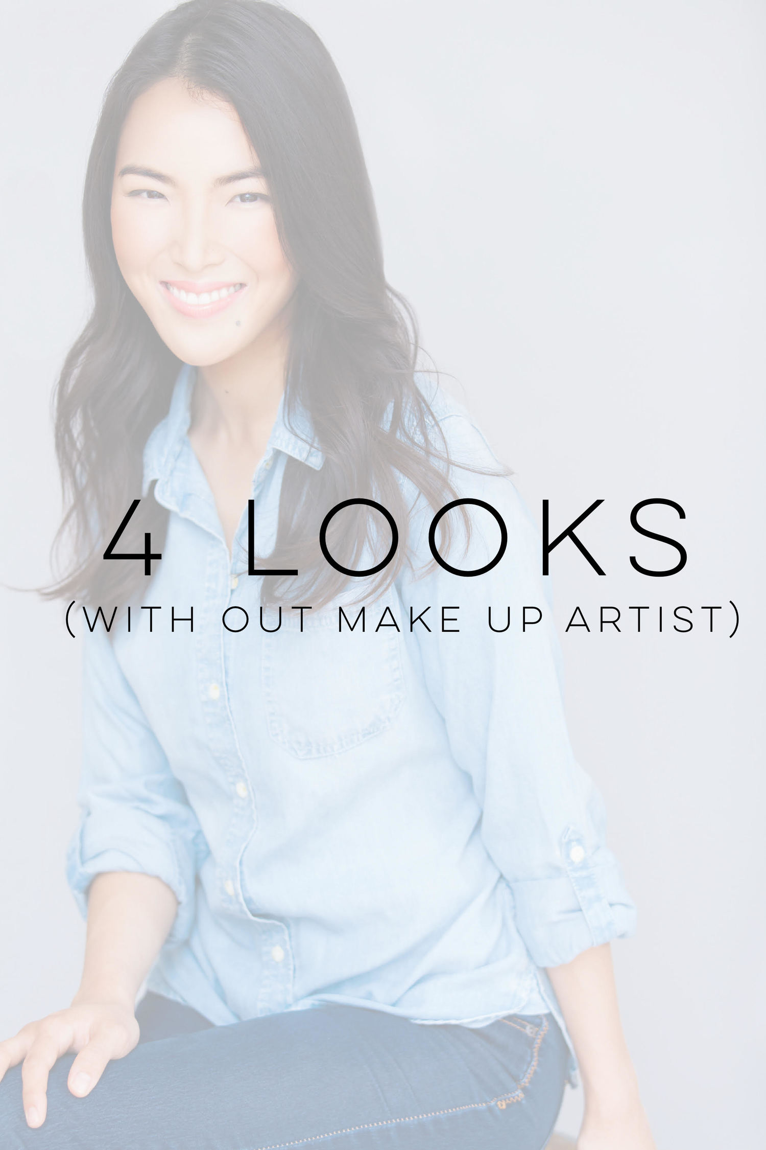 4 looks with OUT make up artist $225