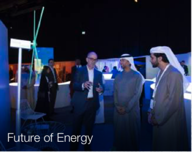 Speaking with the UAE Minister of Energy and Industry