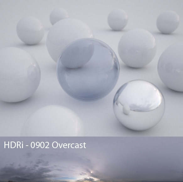 Overcast HDRI by  Peter Guthrie