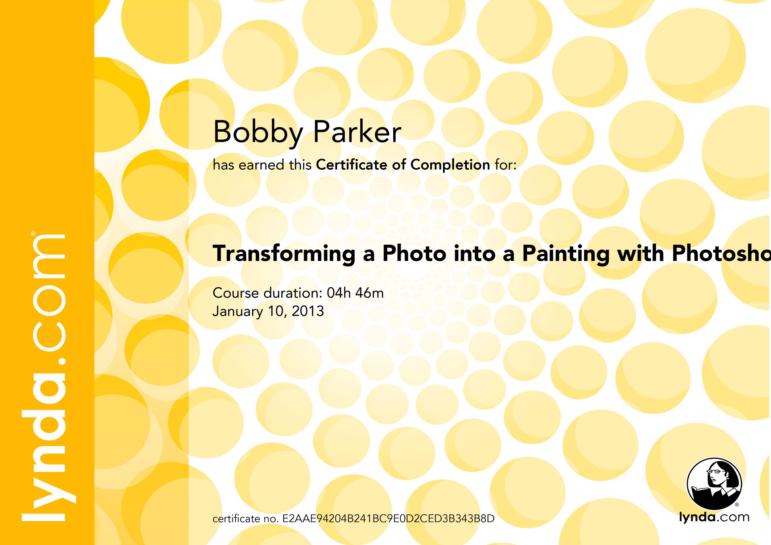 TransformingaPhotointoaPaintingwithPhotoshopCS6_CertificateOfCompletion.jpg