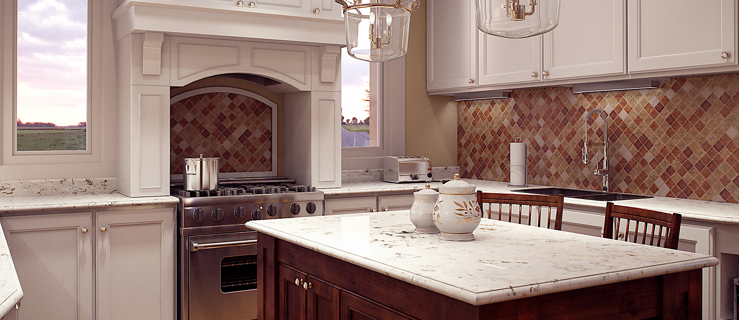 Photo Real Kitchen Rendering