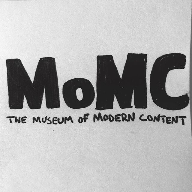 MoMC - The Museum of Modern Content.  Do you go to museums for the instagram or do you ever challenge yourself to go and be in the presence of the art and mastery. These works have lasted for hundreds of years but social media platforms have made these masterpieces even more more ephemeral—mindless content. Filling in the void of self fulfillment.