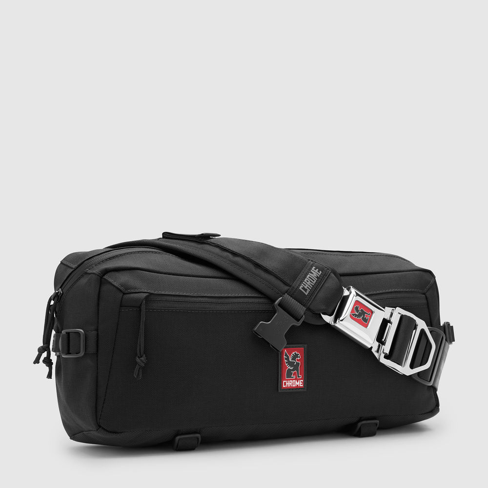 KADET NYLON MESSENGER BAG - The Kadet is a compact messenger-style sling bag constructed with military grade materials. It's built to carry your essentials in a small, comfortable, lightweight pack.