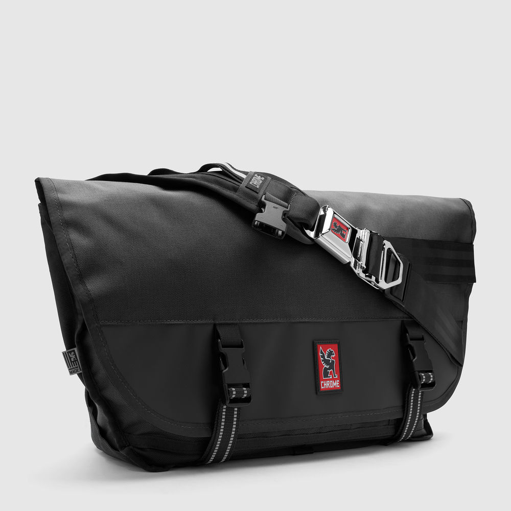 CITIZEN MESSENGER BAG - Original. Iconic. Their medium-sized messenger bag with quick-release seatbelt buckle. Made in Chico, CA. Guaranteed for Life.