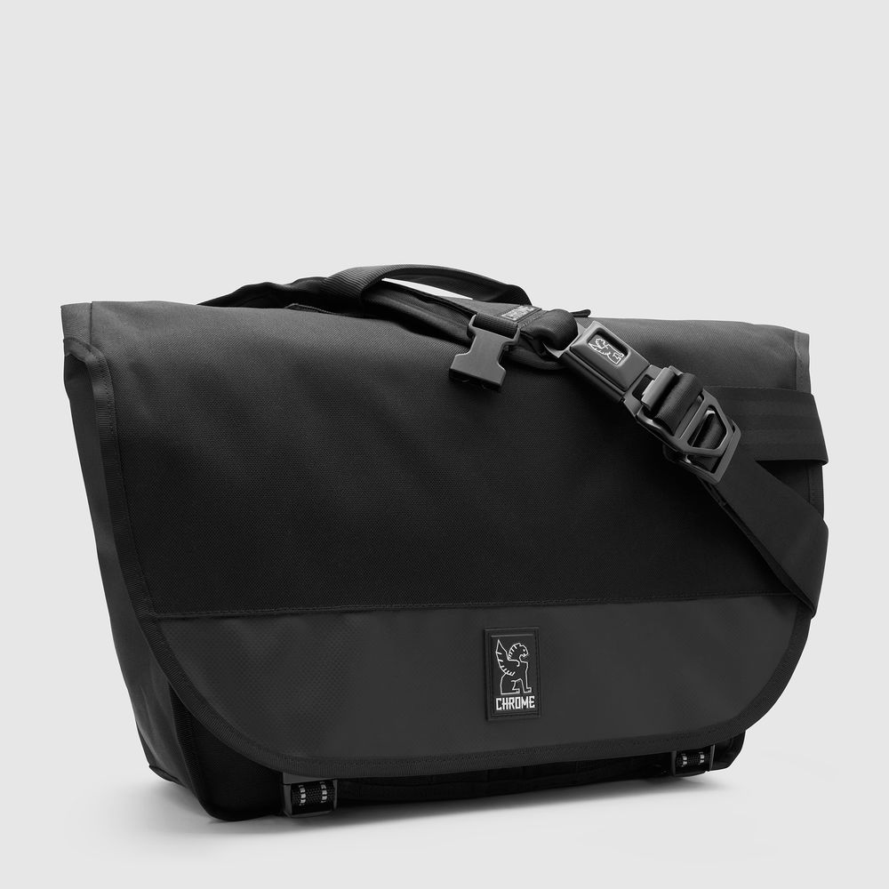 BURAN II MESSENGER BAG - Their medium-sized laptop messenger bag with integrated laptop sleeve, enhanced organization and briefcase handle. The most unsuspecting laptop bag. Ever. Guaranteed for Life.