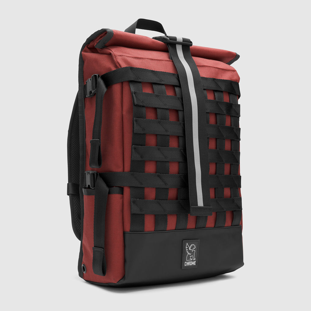 BARRAGE CARGO BACKPACK - Their compact 100% welded-waterproof rolltop with versatile cargo net compression system and iconic seatbelt buckle. Made in USA. Guaranteed for Life.