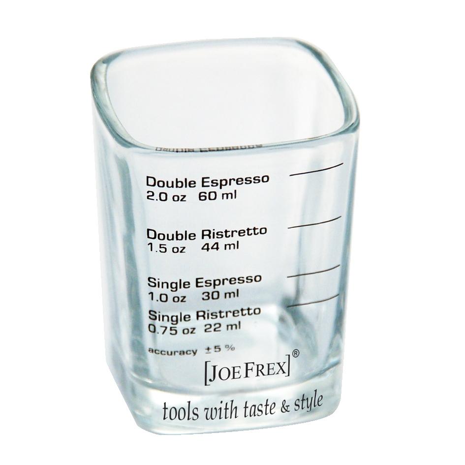ESPRESSO SHOT GLAS - For single und double shot of ristrettos and espressos. Dishwasher save.