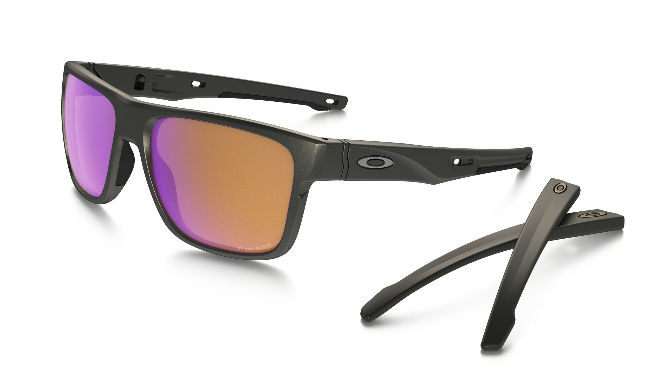 CROSSRANGE™ PRIZM™ TRAIL - Made with interchangeable temples and nose pads that let you adapt style and performance for a life that never slows down.