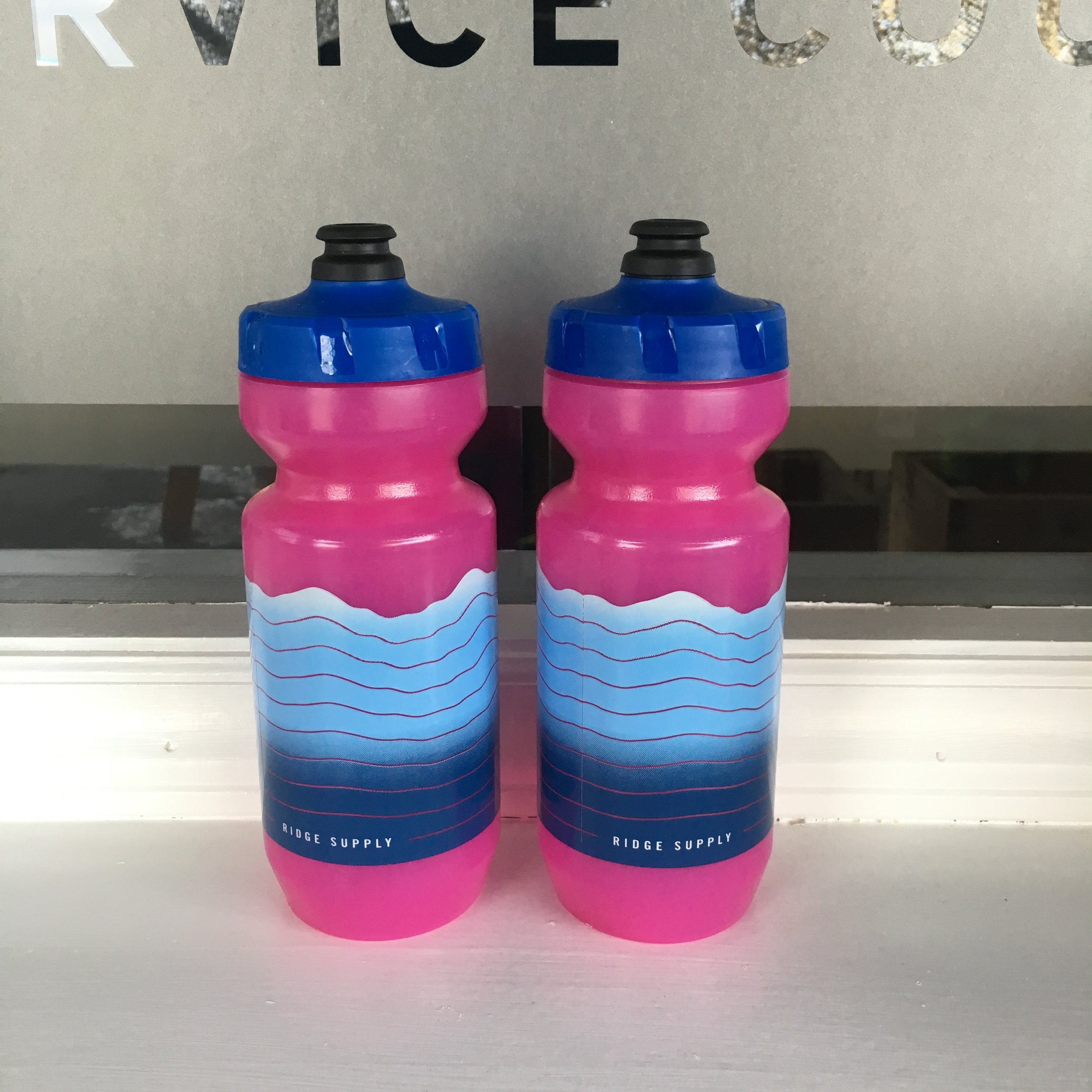 TRANS PINK 22OZ PURIST BOTTLE - Purist infusion shields the bottle from taste, mold, and staining.  Nothing sticks so your bottle stays clean and your water tastes pure.