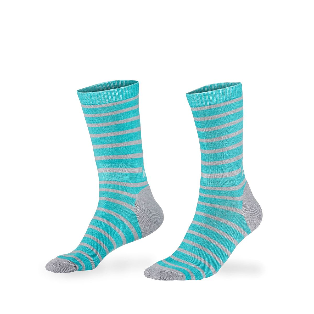 All Rounder Stripes Crew Sock