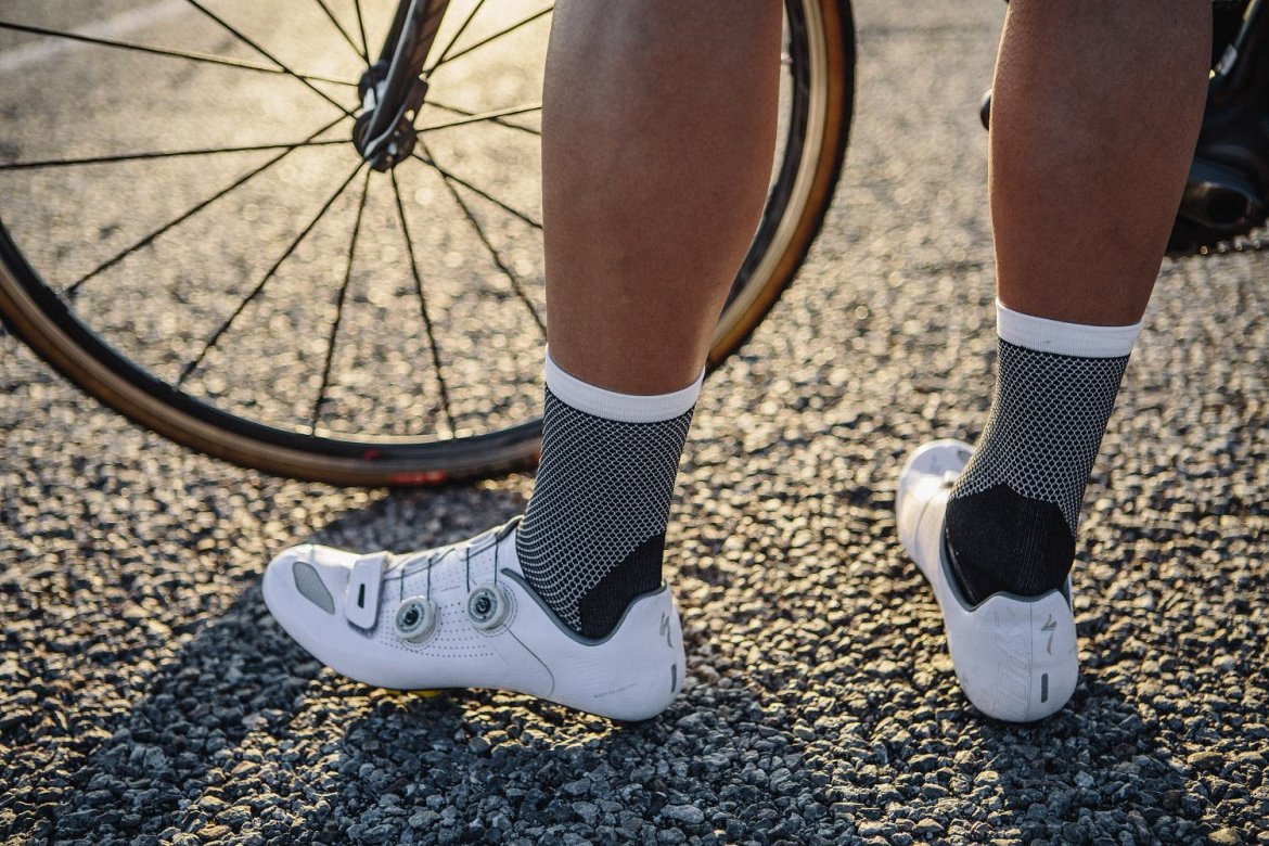 CLIMBER'S SOCKS BLACK - Their new Climber's socks are beautifully designed and provide extreme wicking and breathability.