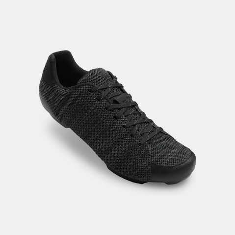 REPUBLIC R KNIT - A new nylon and rubber co-molded outsole provides improved durability and better traction for stable footing on roads, sidewalks and gravel when you're off the bike.