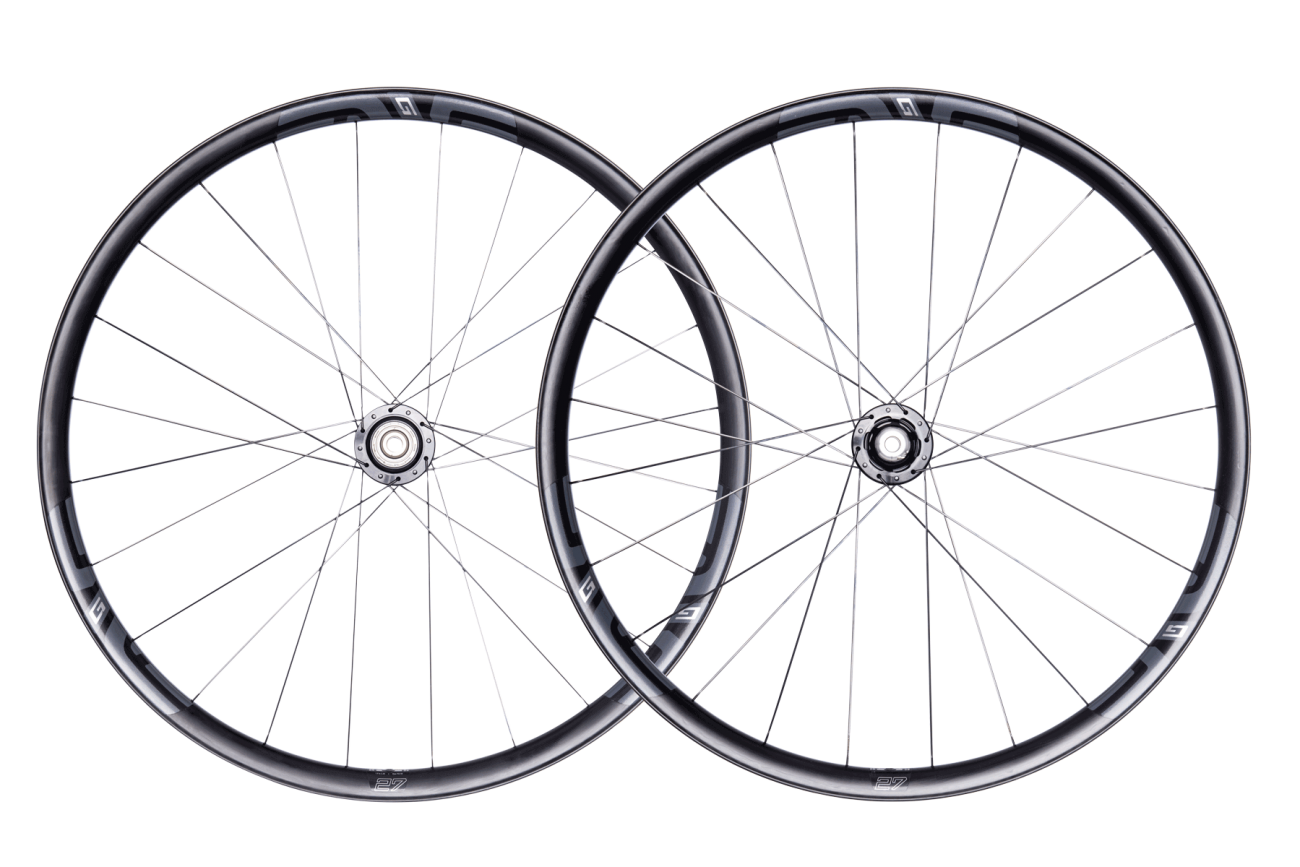 G27 650B - The G27 is the G23's little big brother. Smaller in diameter and lighter in weight, the G27 is designed for disc brakes and higher volume tires.