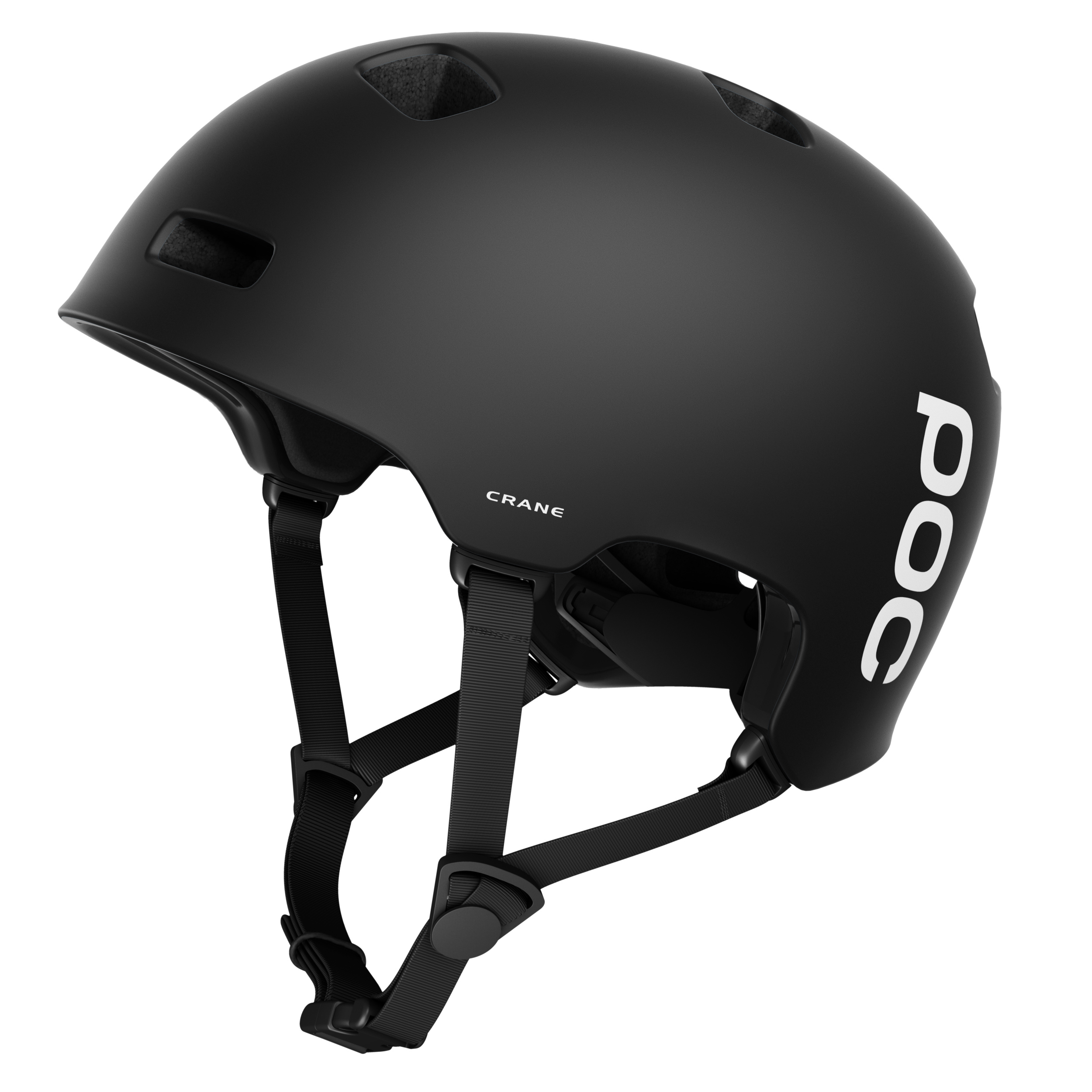 CRANE - The award winning Crane is a lightweight helmet with a durable and dent resistant construction where POC has implemented a new kind of liner, combining two different densities.