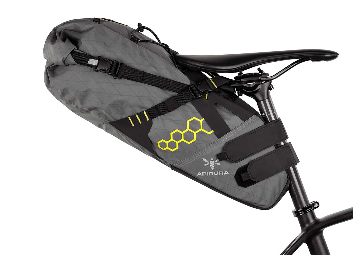 BACKCOUNTRY SADDLE PACK 14L - The Backcountry Saddle Pack is an essential partner for bikepacking trips in the wilderness.