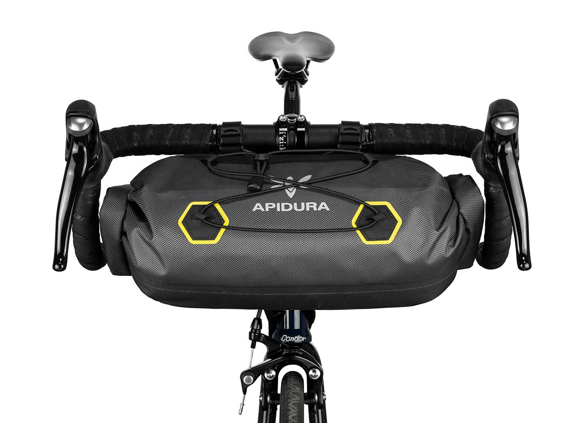 EXPEDITION HANDLEBAR PACK 9L -  Ideal for carrying lightweight, compressible kit, the Expedition Handlebar Pack is a handy partner for long-distance road tours & weekend trips.
