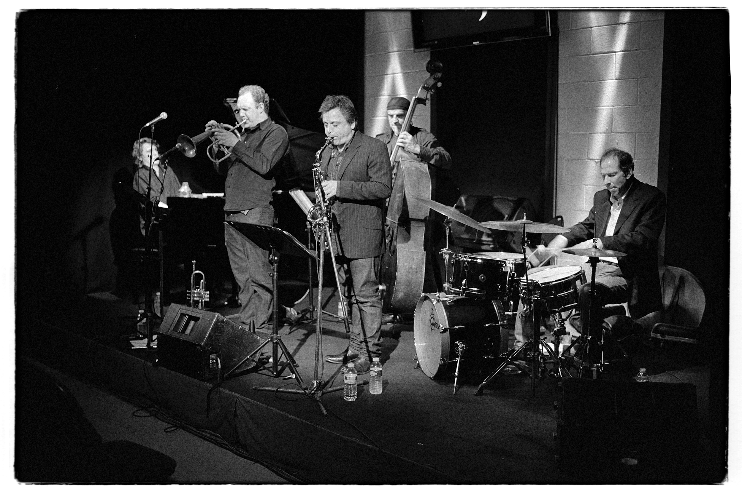 Greg Houben Quartet meets Pierrick Pedron