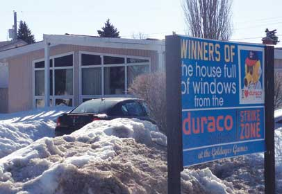 House Full of Duraco Windows!